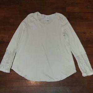 Knox Rose womans size medium long sleeve blouse